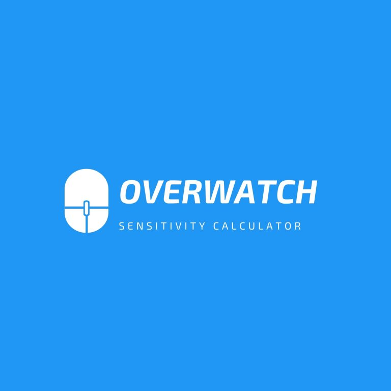 Overwatch Sensitivity Calculator