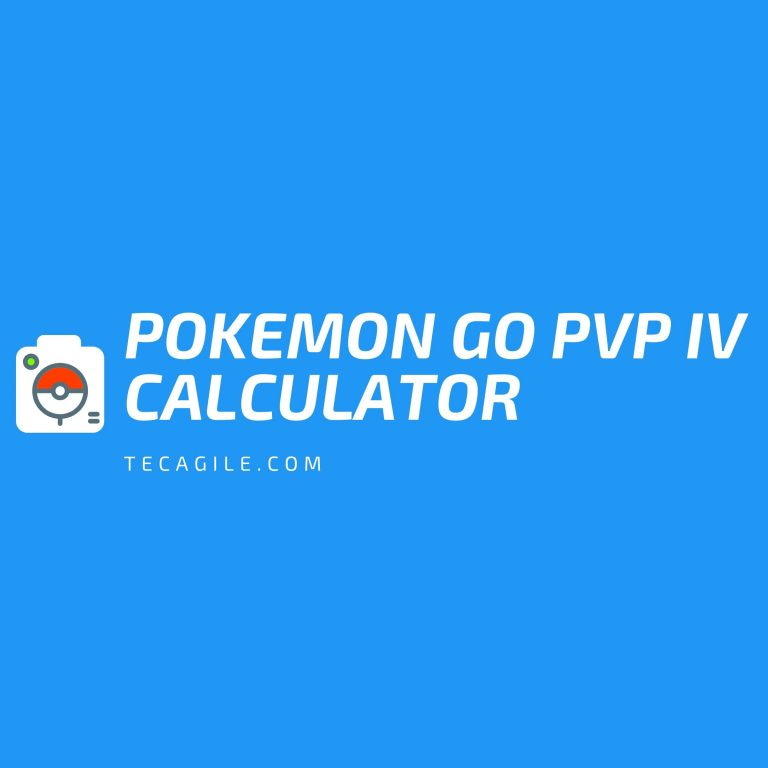 Pokemon Go PvP IV Calculator