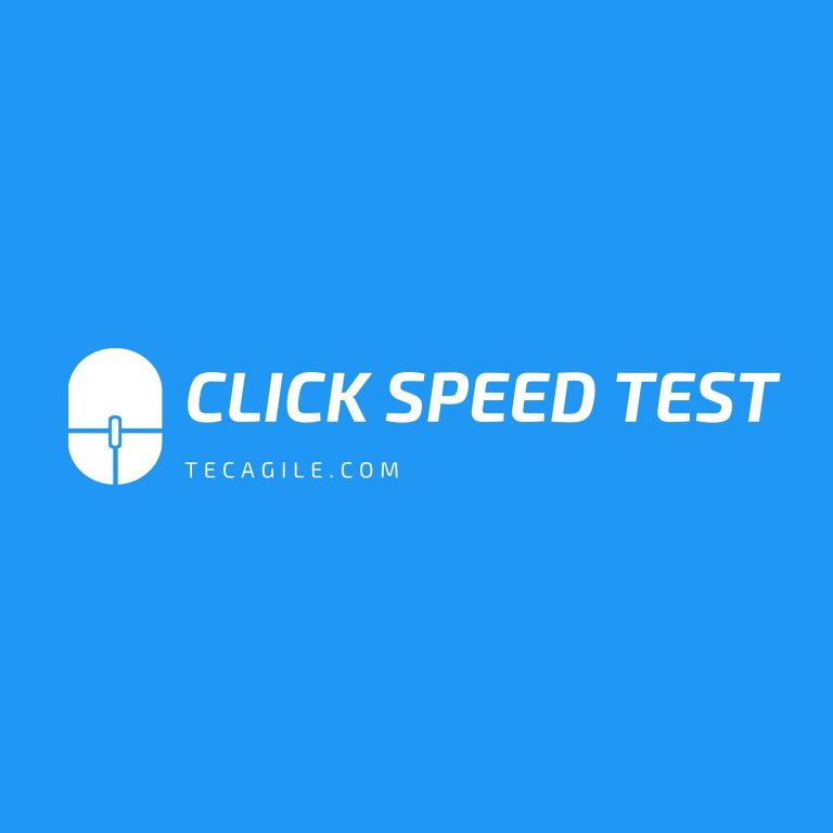 click speed test tool
