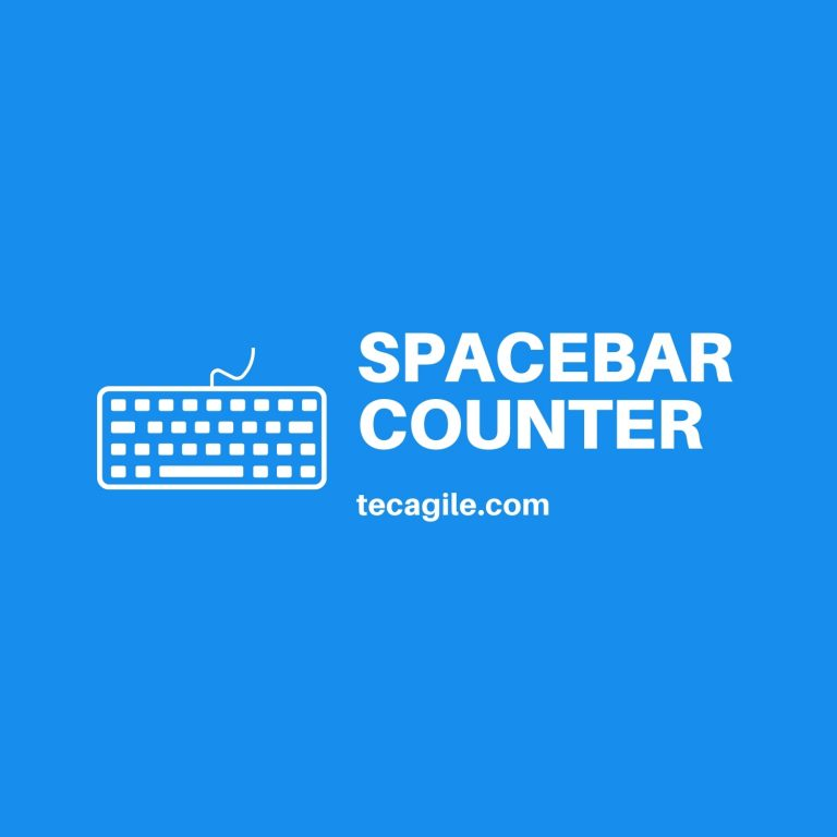 spacebar counter